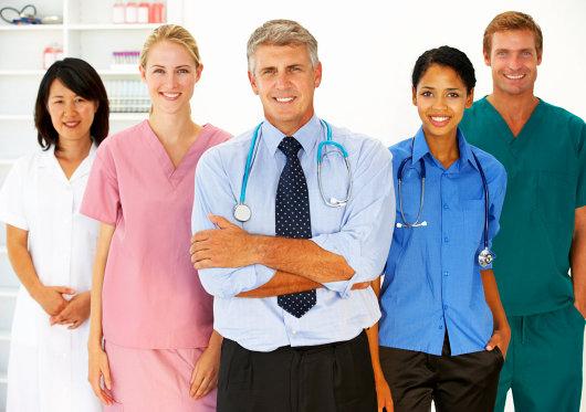 five medical staff